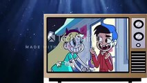 Star vs the Forces of Evil S1 E1 Star Comes to Earth Party with a Pony