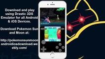 Working Pokémon Moon on iPhone using Drastic 3DS Emulator