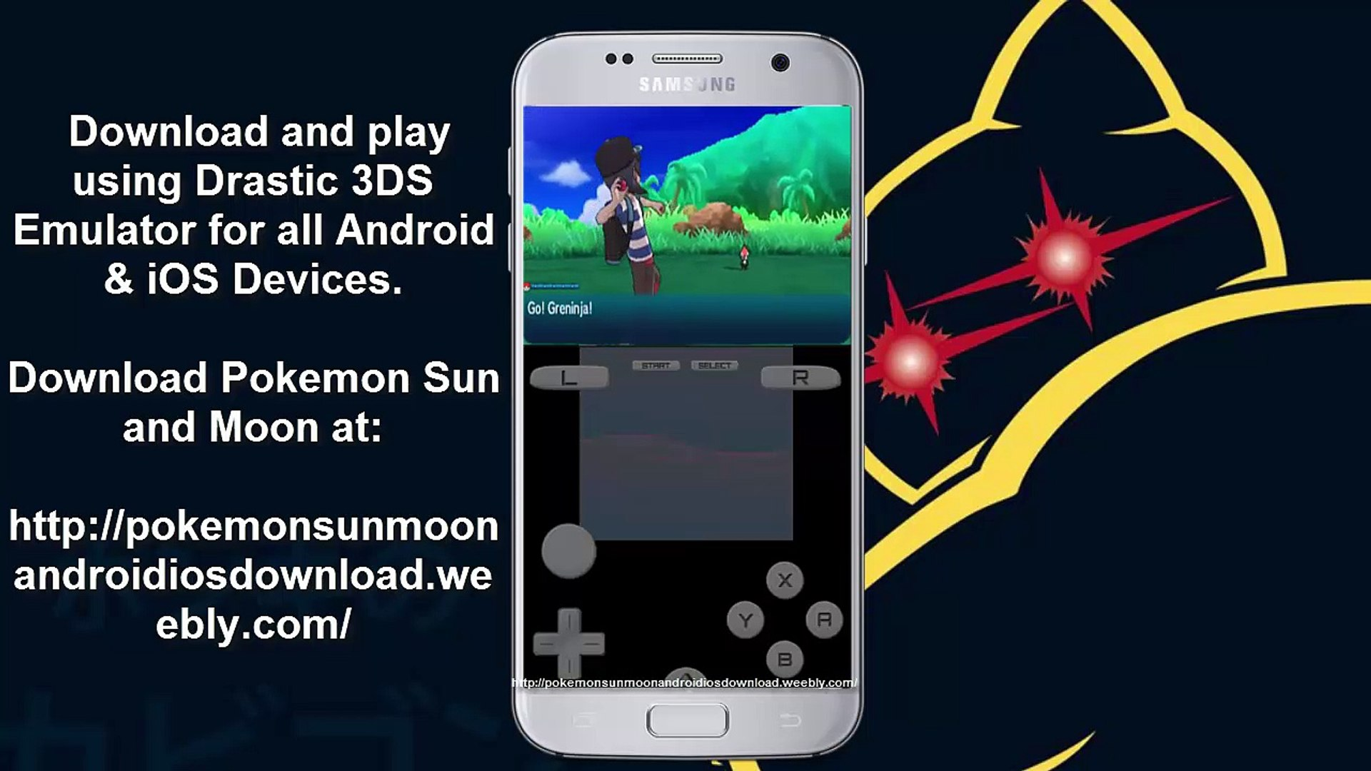 How to play Pokémon Sun in Android - Working Drastic 3DS Emulator
