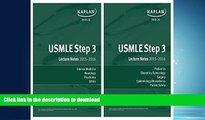 FAVORITE BOOK  USMLE Step 3 Lecture Notes Bundle  BOOK ONLINE