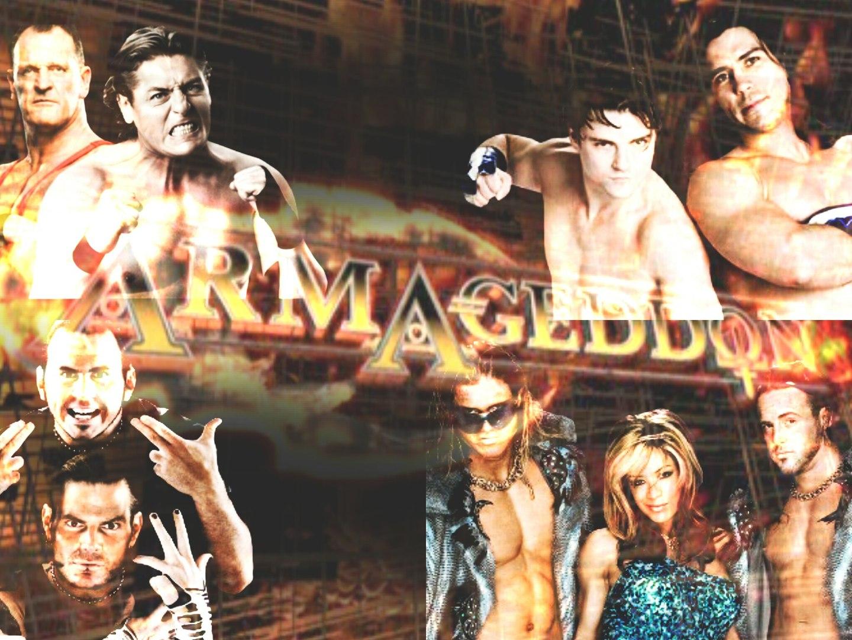 Resultado de imagem para armageddon 2006 fatal 4 way ladder match