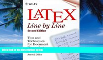 Best Price LaTeX: Line by Line: Tips and Techniques for Document Processing, 2nd Edition Antoni