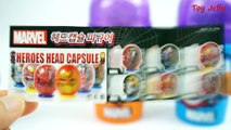 Surprise Cups Spider Man Marvel Avengers Captain America Civil War Iron Man Star Wars Surprise Eggs