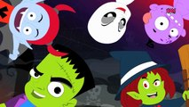 Scary Nursery Rhymes   Finger Family Monsters   Scary Rhyme