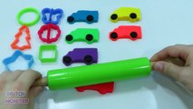 Play doh Molds Cars Creative fun Plastilina for children Video Playdough