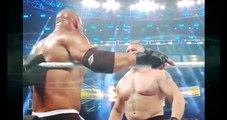 Bill Goldberg Vs Brock lesner   wwe survivor series bill goldberg vs brock lesnar! goldberg wins