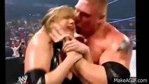 WWE Brock Lesnar vs Stephanie McMahon - Brock nearly strangled Stephanie wwe raw channel videos 2016
