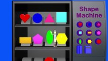 Learn Shapes for Kids and Preschool Kindergarten and Toddlers with our Train Ride - Shape Vending M