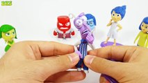 Inside Out Figures Anger Sadness Disgust Joy Fear Toys From Inside Out Movie