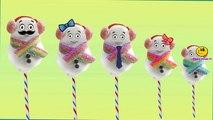 Snowman Cartoons Finger Family Children Nursery Rhymes   CakePops Finger Family Rhymes for Children