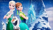 FROZEN | Lullabies for babies | Hush Little Baby , Brahms Lullaby | Twinkle Twinkle Little Star