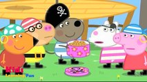 Peppa Pig Coloring Pages - Pirate Treasure Episode - Peppa Coloring Book