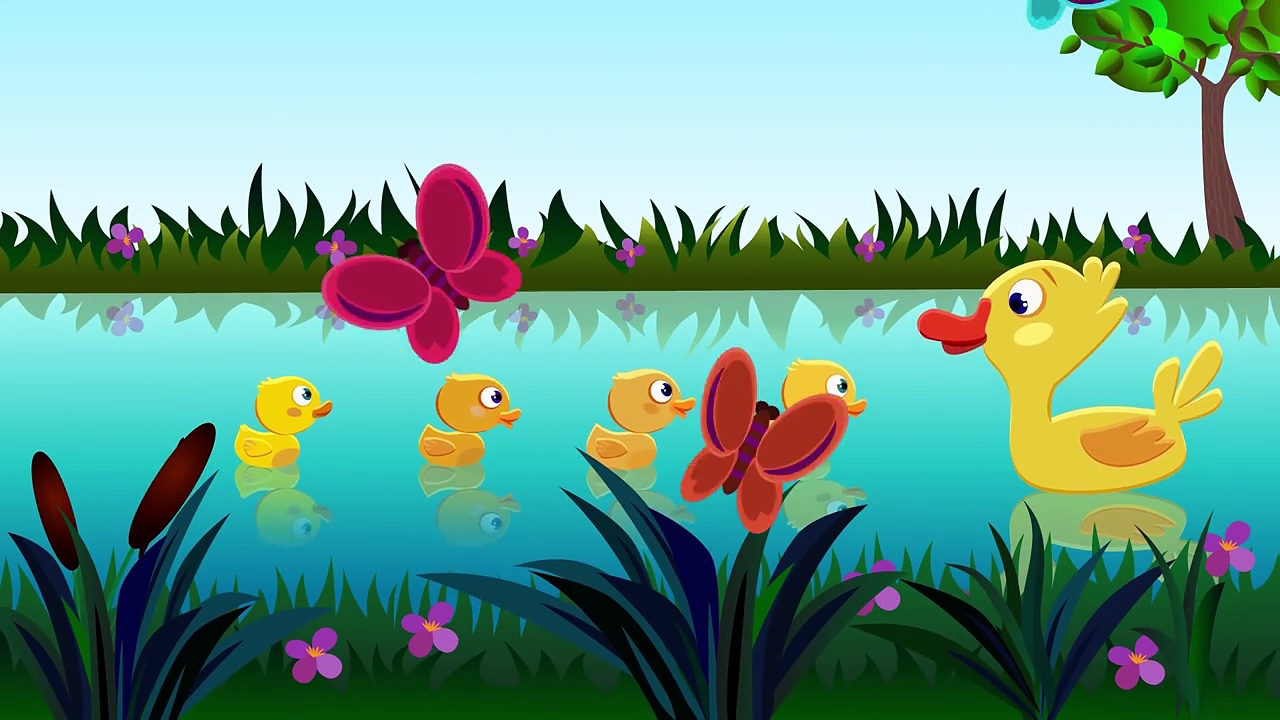 Five Little Ducks Nursery Rhymes and Kids Songs. Five little ducks went out one day by Emi TV Lyrics
