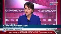Najat Vallaud-Belkacem appelle Manuel Valls et François Hollande à rouvrir le dialogue