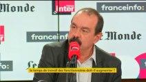 Philippe Martinez répond aux auditeurs de Questions politiques