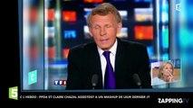 C l'Hebdo : Claire Chazal et Patrick Poivre d'Arvor revivent leur dernier JT (vidéo)