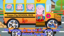 Peppa Pig Kids Songs Nursery Rhymes fun animated cartoon Music Wheels on the Bus