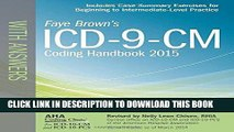 [READ] Kindle ICD-9-CM Coding Handbook, with Answers, 2015 Rev. Ed. (ICD-9-CM Coding Handbook with