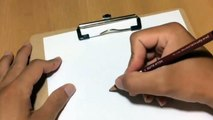 3D drawing on paper Step by Step - How to Draw 3d puppy dog on paper