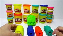 Learn Colors with Car Shape Roll Cake Play Doh Nursery Rhymes For Kids Toddlers Preschoolers Babies