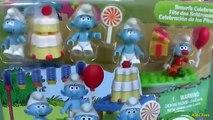 Mega Bloks the Smurfs les Schtroumpfs Smurfs Celebration Smurfs 2 Collection