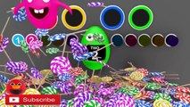 Learn colors 3D SURPRISE EGGS for kids - Learn Count Numbers with 3D Eggs Surprise for Kids Toddlers