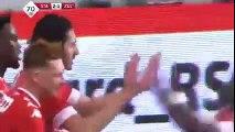 Standard Liege vs Zulte-Waregem 2-1  Ishak Belfodil Goal  Jupiler League 27-11-2016