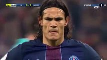 Edinson Cavani Penalty Goal HD - Olympique Lyon 0-1 PSG 27.11.2016 HD