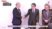 Alain Juppé et François Fillon : première poignée de main après les résultats