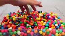 Water Balloons Ball Syringe DIY Slime Learn Colors Toy Surprise Eggs