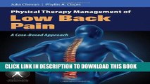 [READ] Mobi Physical Therapy Management Of Low Back Pain: A Case-Based Approach (Contemporary