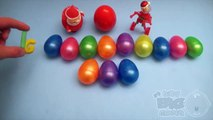 Kinder Surprise Egg Learn-A-Word! Spelling Holiday and Christmas Words! Lesson 16