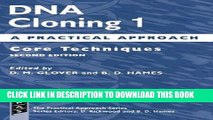[READ] Mobi DNA Cloning: A Practical Approach Volume 1: Core Techniques (Practical Approach