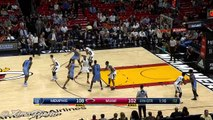 Troy Williams Misses the Dunk   Grizzlies vs Heat   November 26, 2016   2016-17 NBA Season