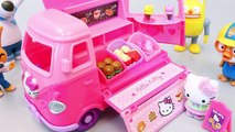 Play Doh Toys Hello Kitty Cars Tayo The Little Bus English Learn Numbers Colors Toy Surprise Eggs