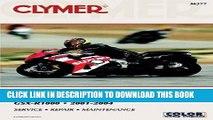 [PDF] Epub Suzuki GSX-R1000 2001-2004 (Clymer Manuals: Motorcycle Repair) Full Download