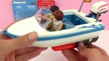 Moteur pour Speedboat Playmobil   Moteur submersible pour bateau