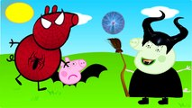 BEN AND HOLLYS LITTLE KINGDOM and Peppa pig has become a bat wicked witch Finger Family