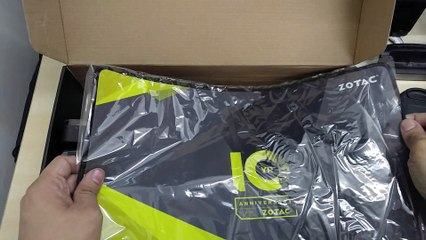 ZOTAC 10th Anniversary Treasure Box Unboxing