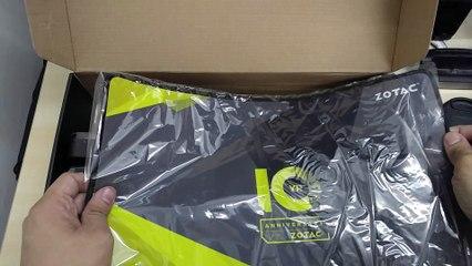 ZOTAC 10th Anniversary Treasure Box Unboxing