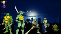 Finger Family NINJA TURTLES Cartoon Nursery Rhymes | NINJA TURTLES Finger Family Rhymes