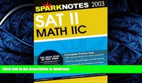 FAVORIT BOOK SAT II Math IIc (SparkNotes Test Prep) READ EBOOK