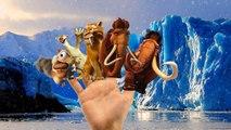 Finger Family Nursery Rhymes For Children Ice Age Cartoons | Finger Family Rhymes For Kids