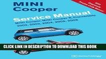 KINDLE MINI Cooper Service Manual: 2002, 2003, 2004, 2005, 2006: MINI Cooper, MINI Cooper S,
