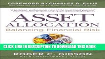 [PDF] Asset Allocation: Balancing Financial Risk, Fifth Edition: Balancing Financial Risk, Fifth