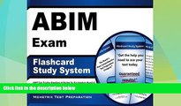 Price ABIM Exam Flashcard Study System: ABIM Test Practice Questions   Review for the American