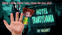 HOTEL TRANSYLVANIA 2 Finger Family Nursery Rhymes Finger Family Songs Daddy Finger