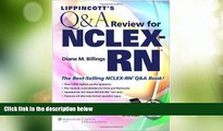Price Lippincott s  Q A Review for  NCLEX-RN® (Lippincott s Q A Review for NCLEX-RN (W/CD)) Diane