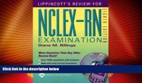 Best Price Lippincott s Review for NCLEX-RN® (Lippincott s Q A Review for NCLEX-RN (W/CD)) Diane