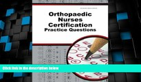 Best Price Orthopaedic Nurses Certification Exam Practice Questions: ONC Practice Tests   Exam